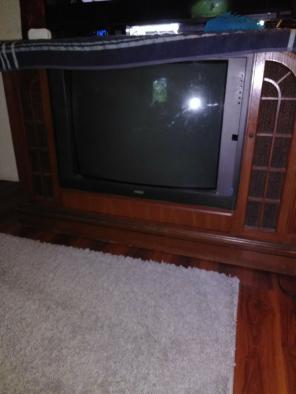 Used, RCA  Wooden Television Set for sale
