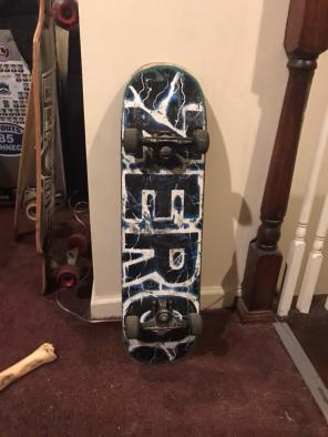 Zero Skateboard, used for sale