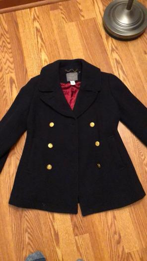Women's J. Crew Majesty Pea Coat (13), used for sale