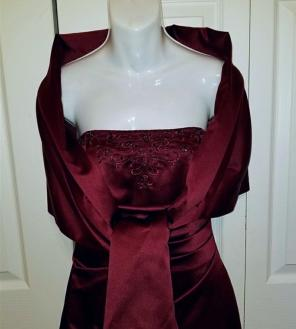 Davids Bridal Wrap Dresses Mercari