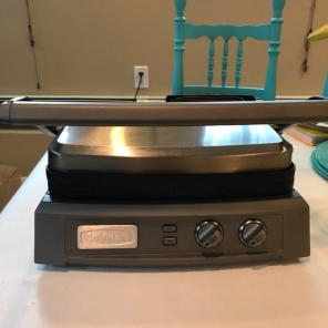 Used, Cuisinart Griddler Deluxe for sale