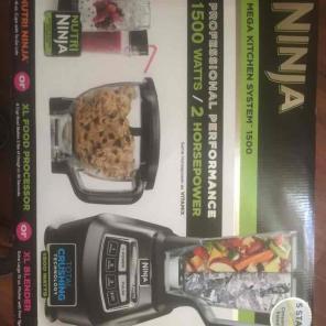 Ninja Mega kitchen system 1500 for sale