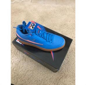 Used, Pink Dolphin X Fila T1 Mid Ghost Blue for sale