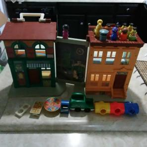 Sesame Street Fisher Price Little people for sale