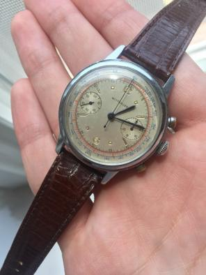 Vintage Wittnauer Mechanical Chronograph for sale