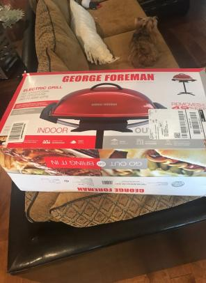 George Foreman Grill Indoor Outdoor for sale