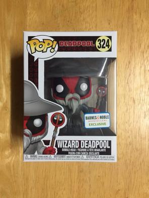 Wizard Deadpool Barnes Noble Funko Pop for sale
