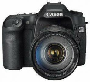 Canon EOS 40D 10.1MP SLR Camera, used for sale