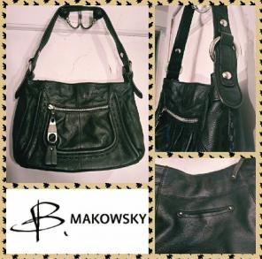 b. makowsky 100% Leather Handbags   Mercari 537d0fa8ec