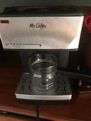 mr coffee espresso machine for sale