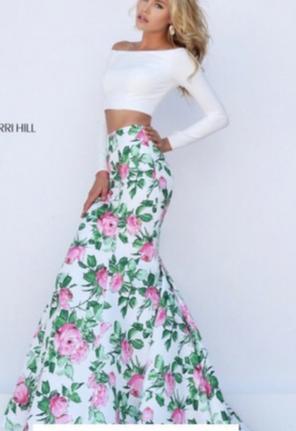 Sherri Hill Floral Dresses Mercari