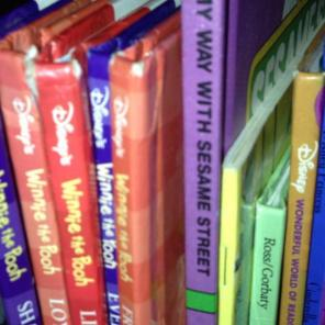 Bulk Of Books Disney And Sesame Street, used for sale