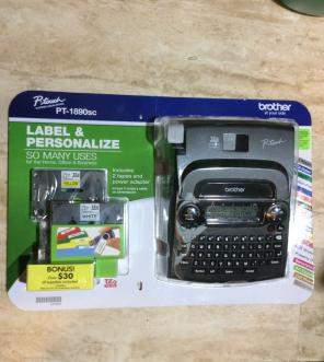 Brother Printing Label Machine New, used for sale