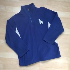 Used, LA Dodgers Half Zip Sweater for sale