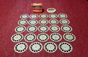 Used, Vintage Viewmaster and Reels Slides Lot for sale