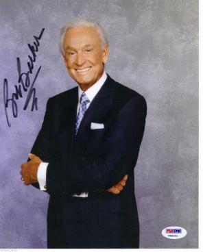 826145b9 Bob Barker Price Right Autograph PSA DNA for sale