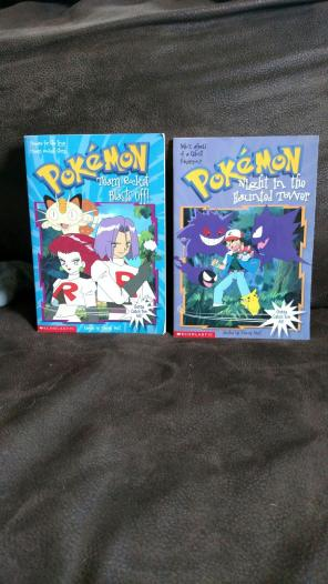 Used, Pokemon chapter books for sale