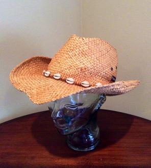 Panama Jack Ladies Straw Hat One Size for sale