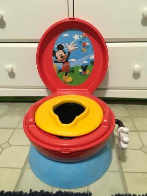 Mickey Mouse Potty Chair Never Used for sale