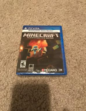 New Sealed Minecraft Ps Vita PlayStation for sale