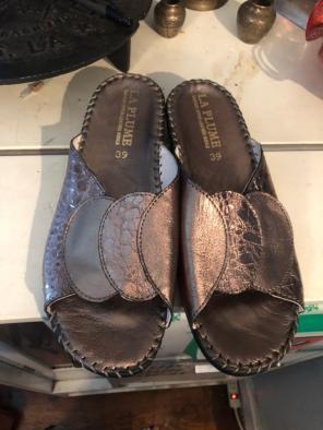 Used, La Plume Leather Shoe for sale
