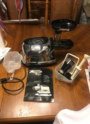 Omega Fruit And Vegetable Juicer for sale