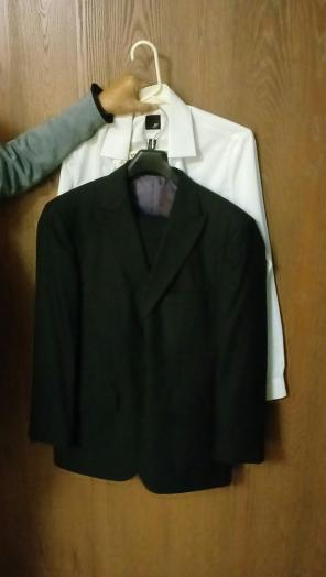 Used, Brand New J Ferrar Mens Suit! for sale