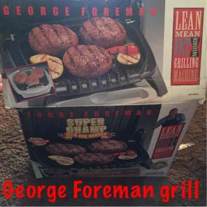 George Foreman Grill-never used for sale