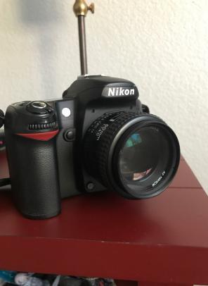 Nikon D80 W/ 1:1.4 D 50 mm Lense. for sale