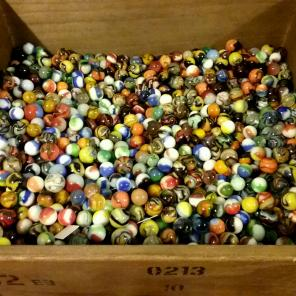 Jabo/Vitro/Marble King 100pc marble lot for sale
