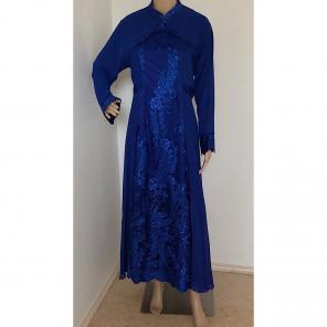 Sapphir Blue Kaftan Maxi Caftan Designer for sale