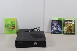 Xbox 360 Console W/ 3 Games for sale