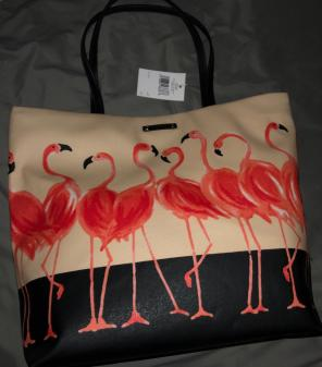 NWT Kate Spade Flamingo Bag Tote Purse for sale