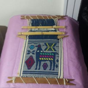 Peru 1970 Tapestry Vintage handlooms for sale