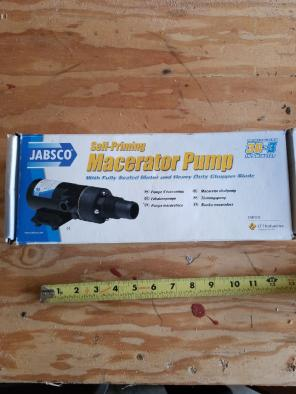 Jabsco Macerator Pump for sale