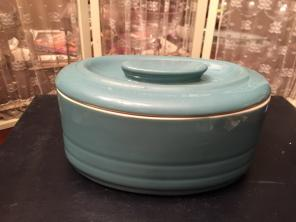 RETRO HALL REFRIGERATOR DISH WITH LID for sale