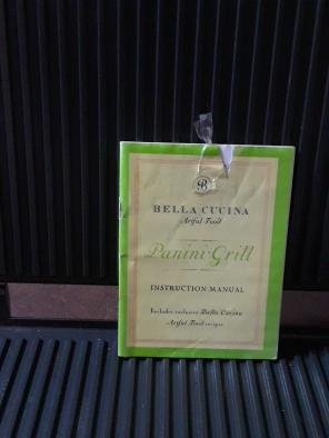 Panini Grill, used for sale