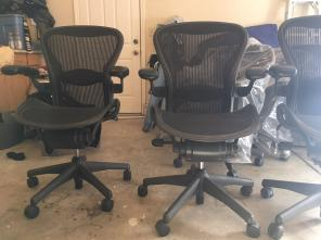 Used, Herman Miller Aeron Fully Loaded for sale