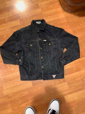 Guess Denim Coats Jackets Mercari