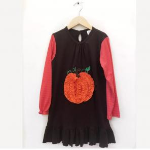 Used, La Jenns Pumpkin Dress Size 10 for sale