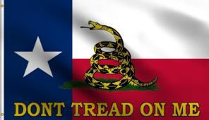 Texas Gadsden Poly Flag 3x5 3'X5' Don't for sale