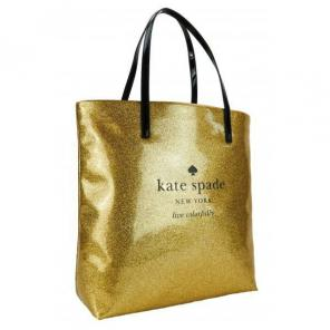 New! Kate Spade Gold Tote Bon Shopper, used for sale