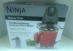 Used, Ninja Master Prep Food and Drink Maker, for sale
