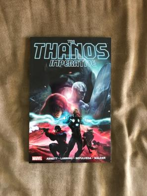 Marvel The Thanos Imperative Book for sale