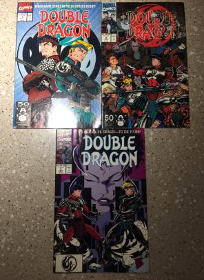 Double Dragon 1, 2, and 3 for sale