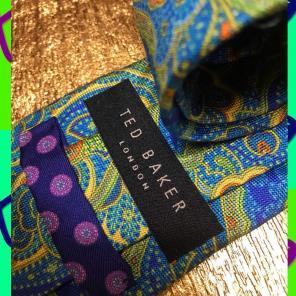 716d48e3c784a6 Ted Baker - Ted Baker Designer Neck Tie