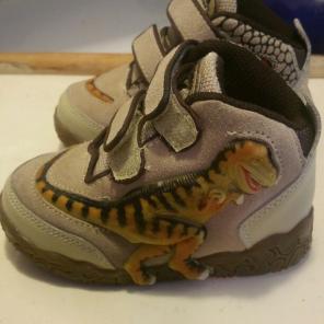 Dinosoles T-Rex Hi-Top Velcro Sneakers 8 for sale