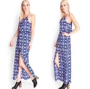 Forever 21 Surplice Maxi Dresses Mercari