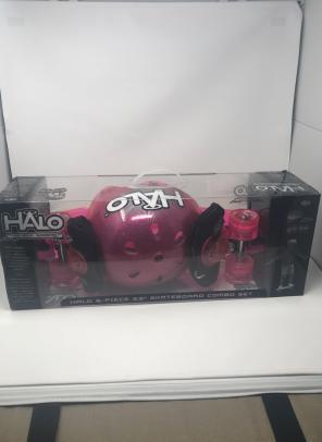 Halo Retro Skateboard Kit New for sale