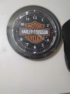 Harley Davidson clock for sale